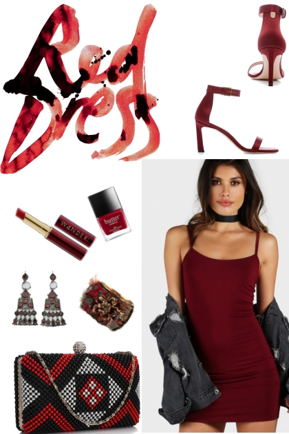 Red Dress-July date style