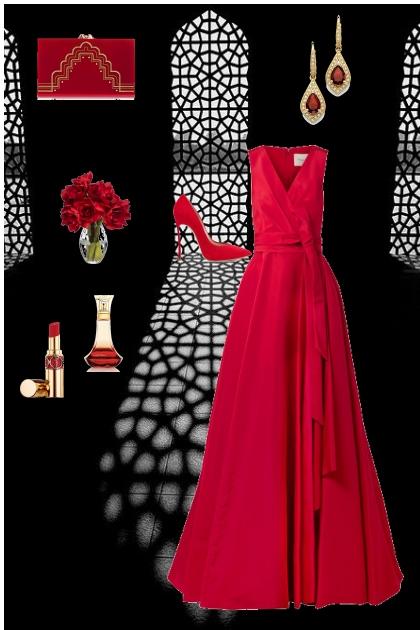 RED STATEMENT - Fashion set
