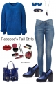 Blue Fall Style