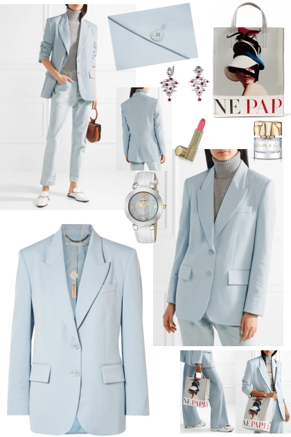 BABY BLUE STYLE