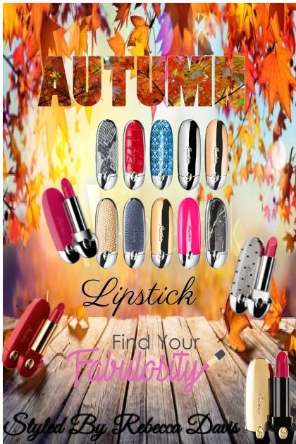 Autumn Lipstick Styles