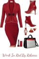 Work In Red-Fall Style -Set 2