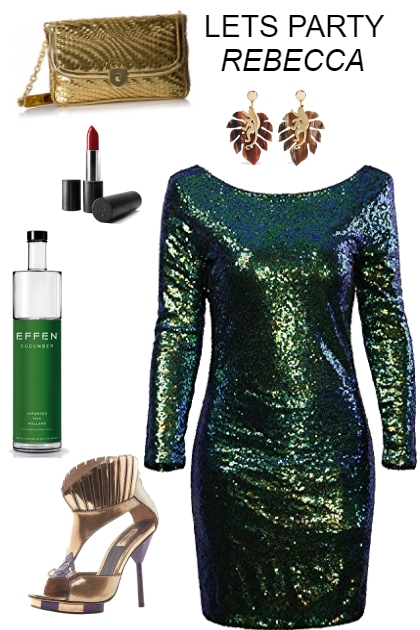 LETS PARTY -HOLIDAY LOOK FOR A FUN PARTY