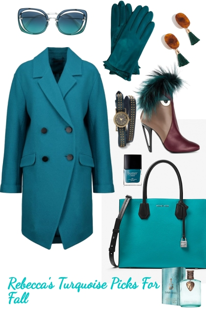 turquoise colors for fall