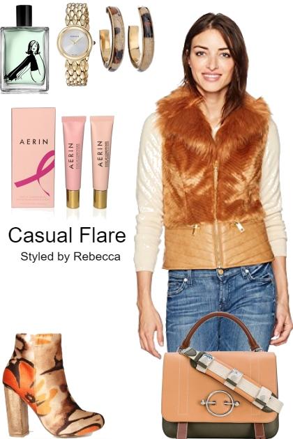 casual flare- Fashion set