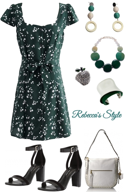 Rebecca's Style in Green Casual