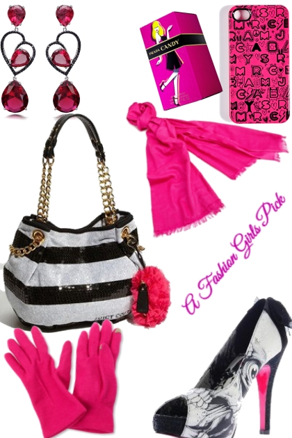 A FASHION GIRLS PICK IN PINK- Fashion set