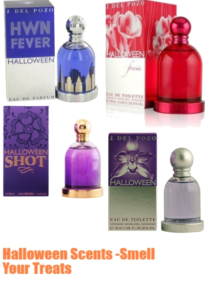 Halloween Scents -Smell Your Treat