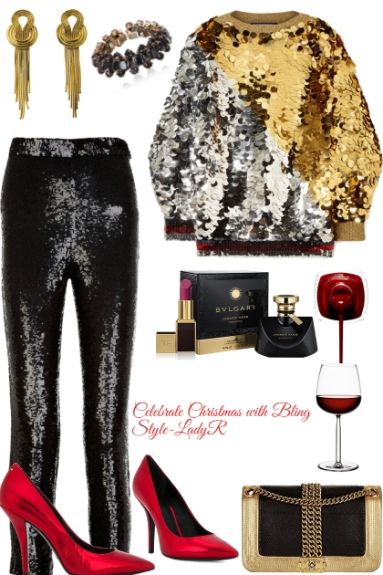 Christmas Bling Style
