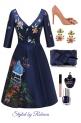 set 12/29- blue garden
