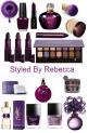 Beauty Obsessed In Purple
