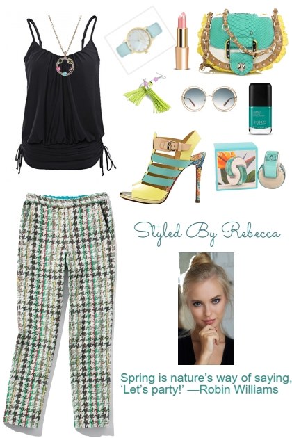 Spring Is For Party- Fashion set