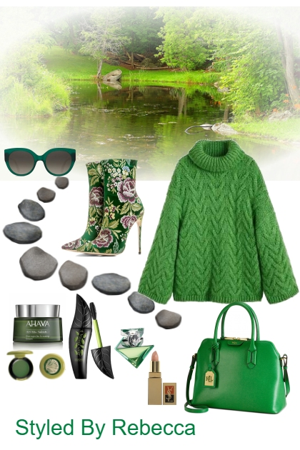 The Nature Of Winter Green