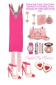 Casual Valentine Style in Pink