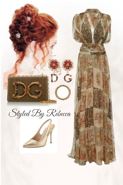 Dresses With Vintage Print