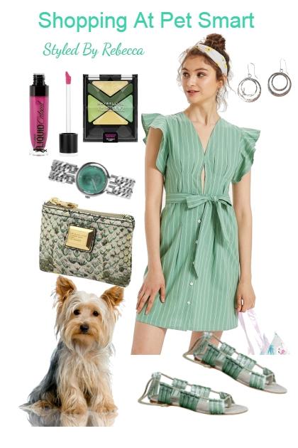 Shopping At Pet Smart