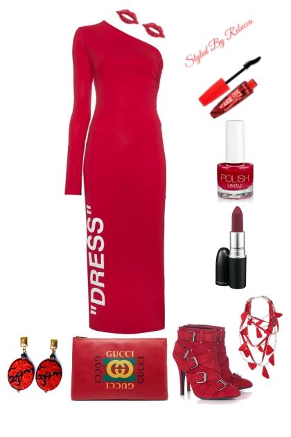 Set 1 Red Style Urban Street Diva