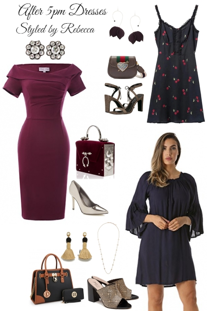 After 5pm Dresses-2/26 Style