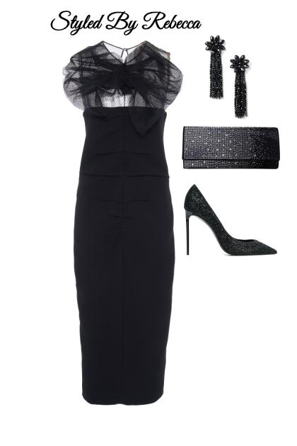 Evening Affair In Black