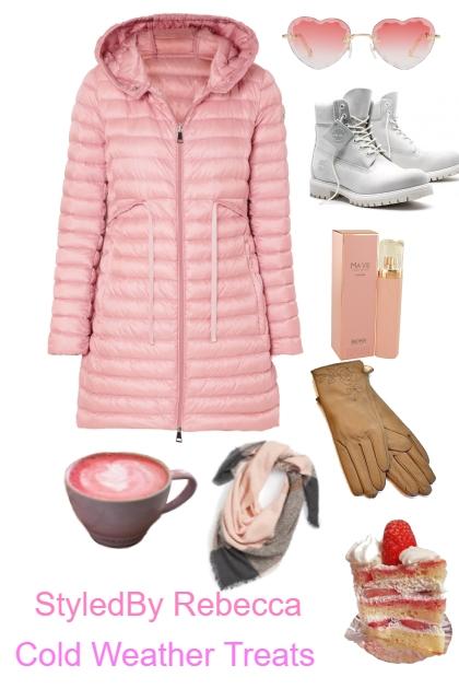 Pink Puff Coat
