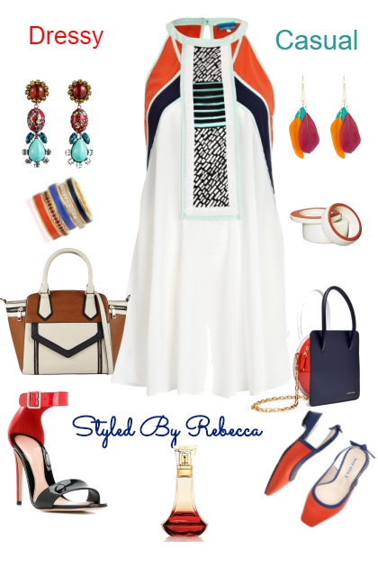 3/6 Dressy To Casual Spring Dress