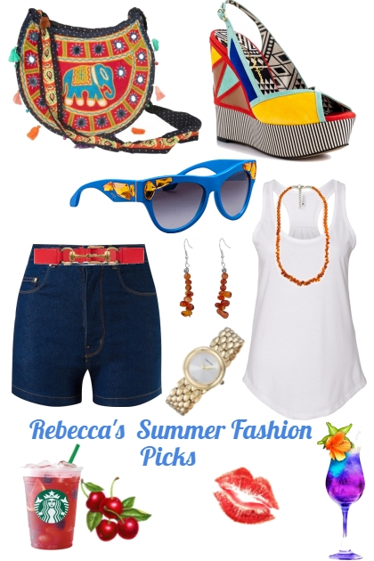 Summer Fashion Picks For A Hot Day