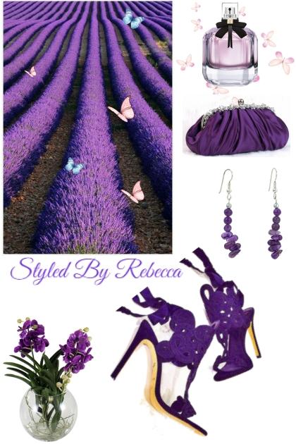 Spring Purple- Fashion set