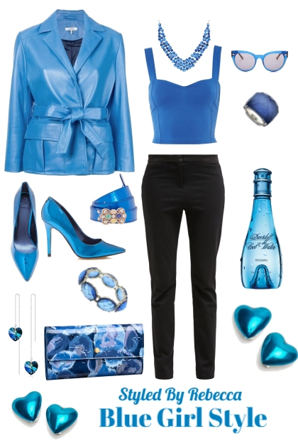Blue Girl Style