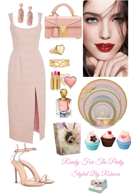 Ready For The Party-Pink Theme