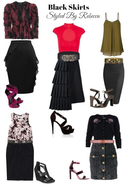 Black Skirt Styles For Summer