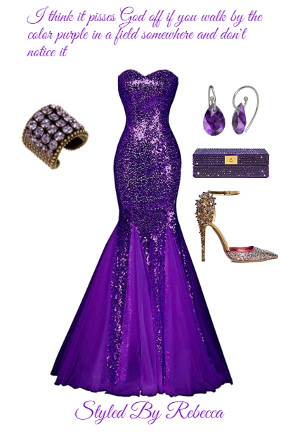 Purple On Fashion Notice