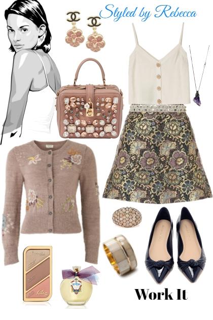 Work it- Skirt details