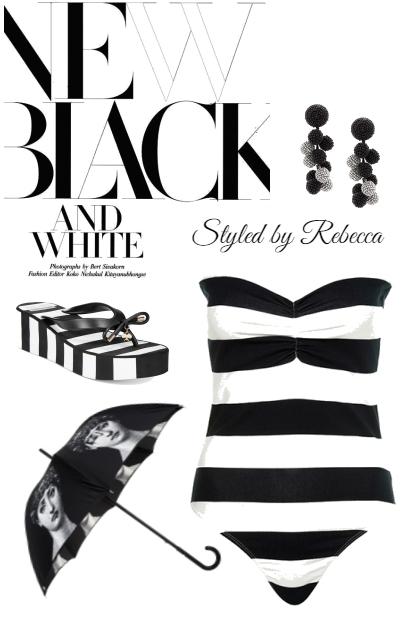 Black And White Summer
