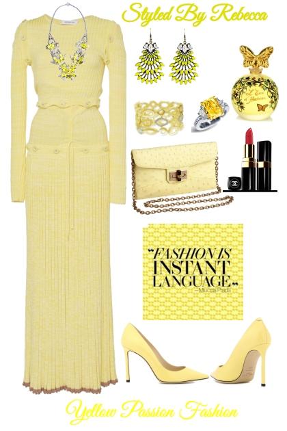 Yellow Passion Fashion