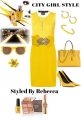 CITY GIRL STYLE-YELLOW NIGHT