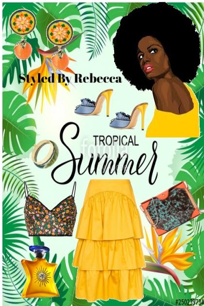 Tropical Summer Diva