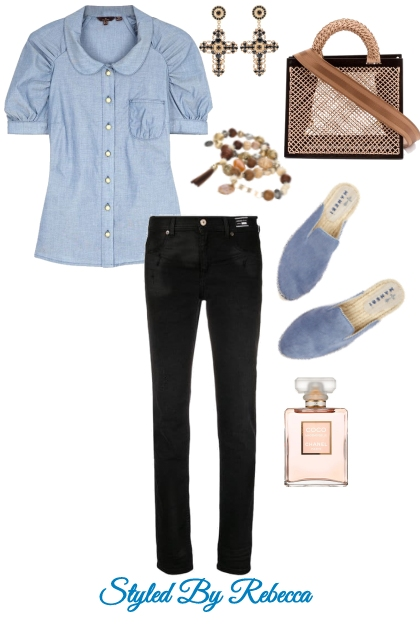 Casual Friday In Jean Style
