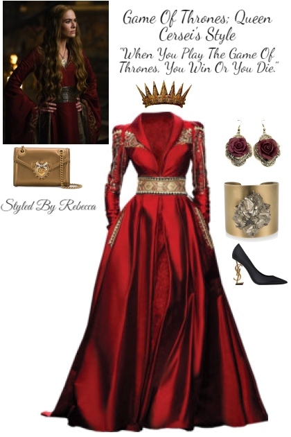 Game Of Thrones; Queen Cersei's Style