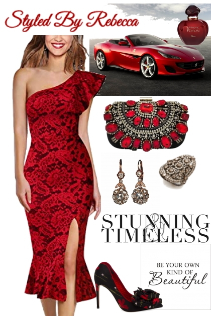 Red Can Be Stunning and Timeless