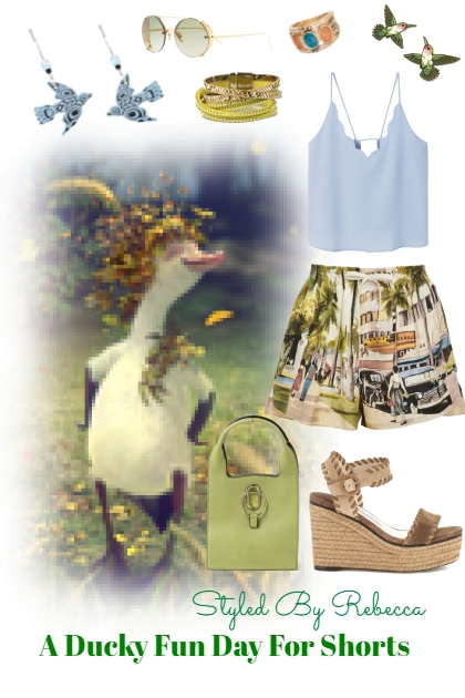 A Ducky Fun Day For Shorts