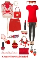 Creating Your Style In Red