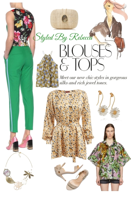 Summer Blouses and Tops
