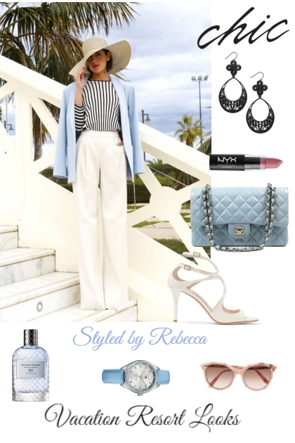 Vacation resort chic looks