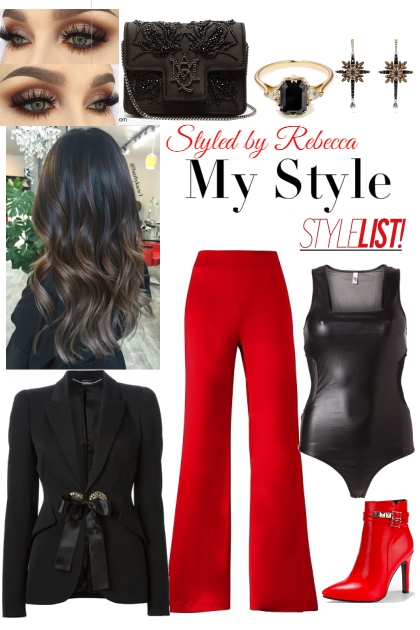 My Style Red and Black Stylelist