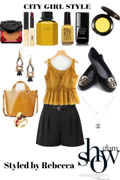 City Glam shorts