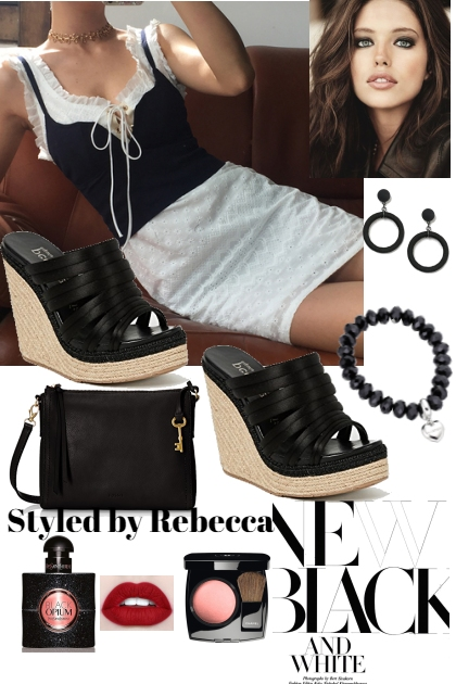Summer Black and whites For Casual wear
