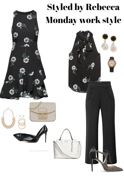 Monday work style floral style-set 1