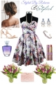 Stylish Floral Dress For Summer