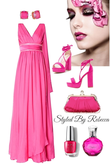 Pink Beauty In The Room- Combinazione di moda