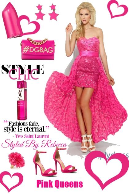Pink Queens- Fashion set